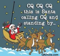 CQ CQ CA Santa Calling