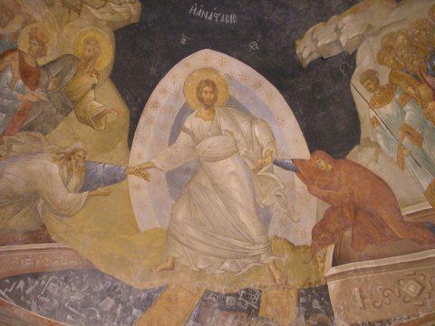 Icône résurrection